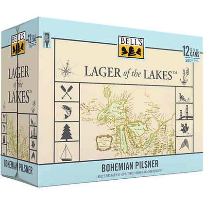 Bell's Lager of the Lakes 12oz (12pk) CN