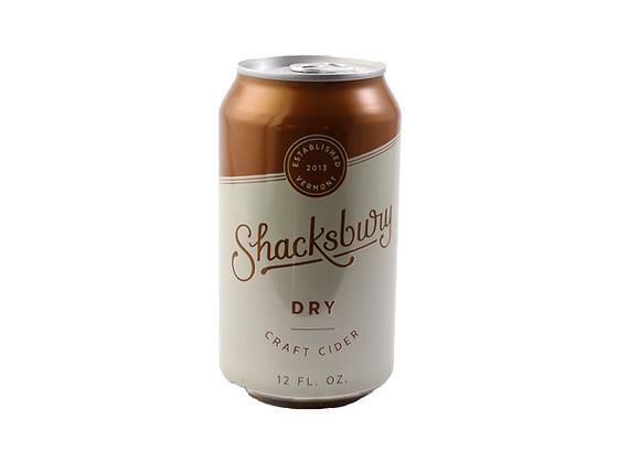 Shacksbury Dry Cider (12oz)
