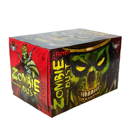 3 Floyds Zombie Dust 6 pack can