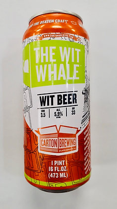 Carton Brewing The Wit Whale