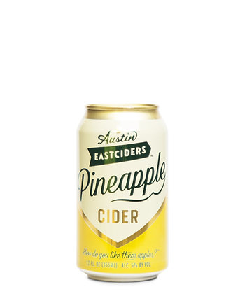 Austin Eastciders Pineapple Hard Cider (12oz)