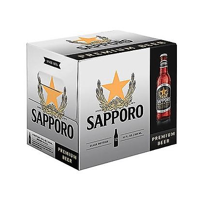 Sapporo 12 oz (12pk) NR