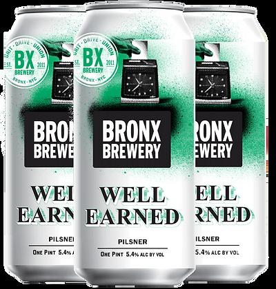 Bronx Brewer Well Earned (12oz)