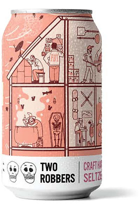 Two robbers peach and berry (12oz)