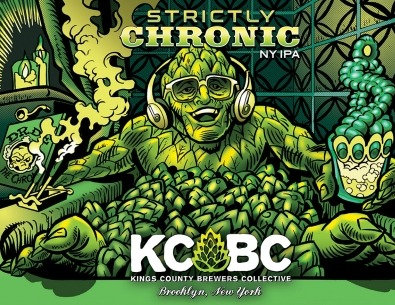 KCBC Strictly Chronic (16oz can)