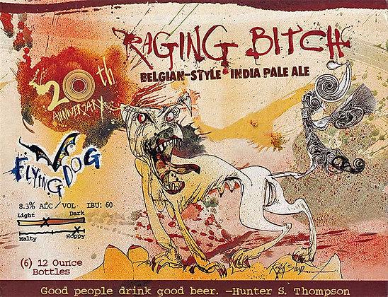 Flying Dog Raging Bitch 12oz (12pk) beer
