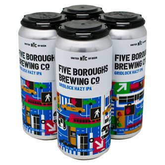Five Boroughs Gridlock Hazy IPA (4pk)
