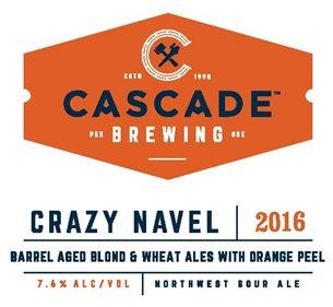 Cascade Brewing Crazy Navel 2016