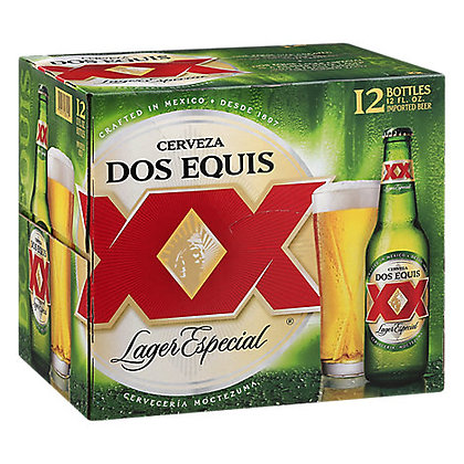 Dos Equis Lager Especial 12oz (12pk) NR