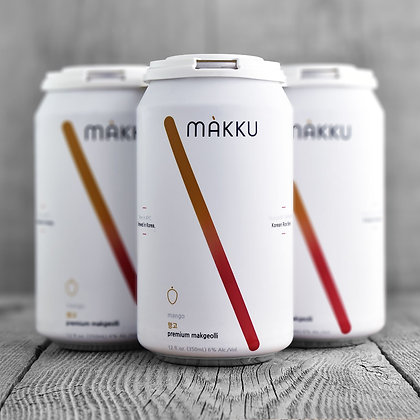 Makku - Mango 4 pack can