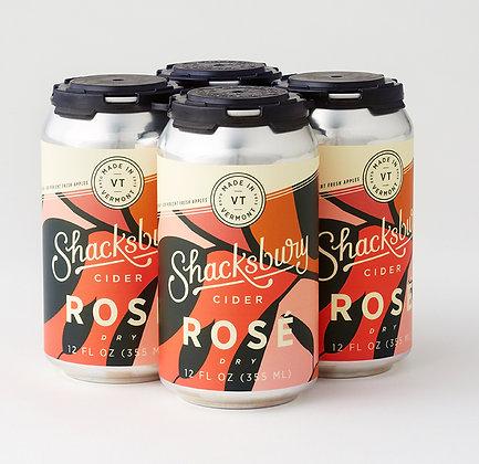 Shacksbury Cider Rosé (12oz)