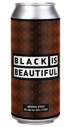 Black Is Beautiful (16oz) can