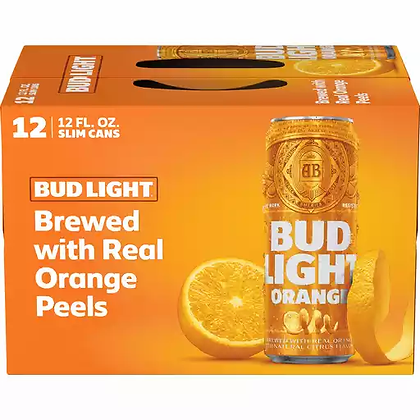 Bud Light Orange 12oz (12pk) CN