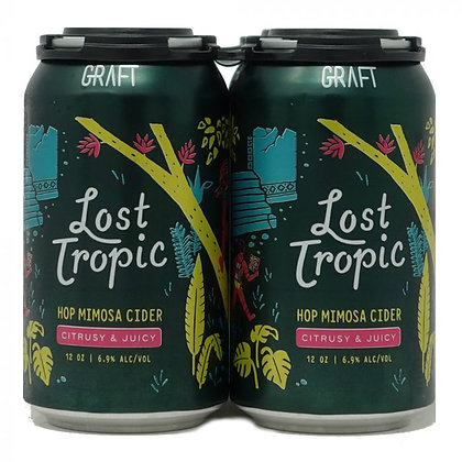Graft - Lost Tropic -Hop Mimosa Cider 4 pack can