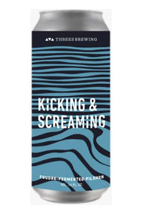 Threes - Kicking & Screaming 16oz cans.  4 pack