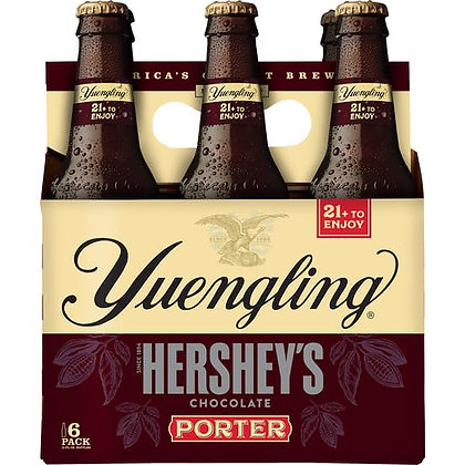Yuengling - Hershey's Chocolate Porter 6 pack bottle