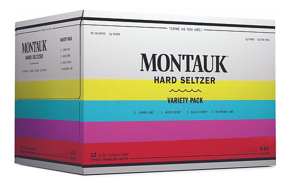 Montauk Hard Seltzer Variety Pack 12oz (12pk)