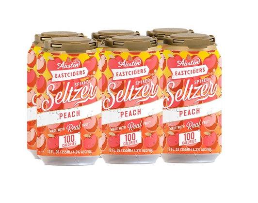 Austin Cider Peach 12oz (6pk) CN