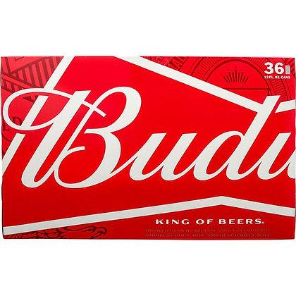 Budweiser 36 pack (12oz can)