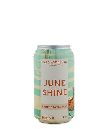 uneShine Hard Kombucha Blood Orange Mint