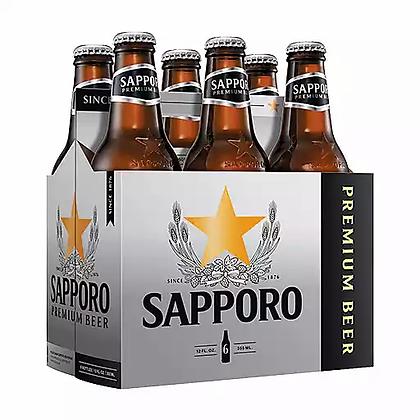 Sapporo 12oz (6pk) NR