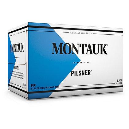 Montauk Pilsner 12oz (6pk) CN