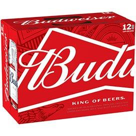 Budweiser 12 pack (12oz cans)