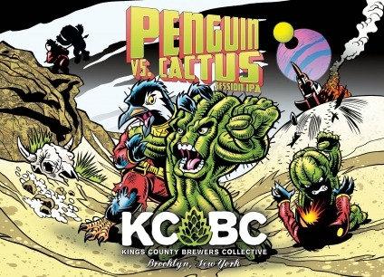 KCBC Penguin vs. Cactus (16oz can)
