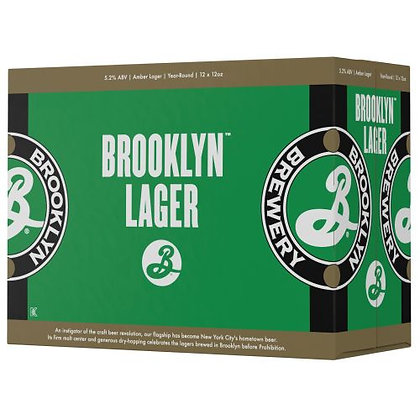 Brooklyn Lager 2/12pk BT