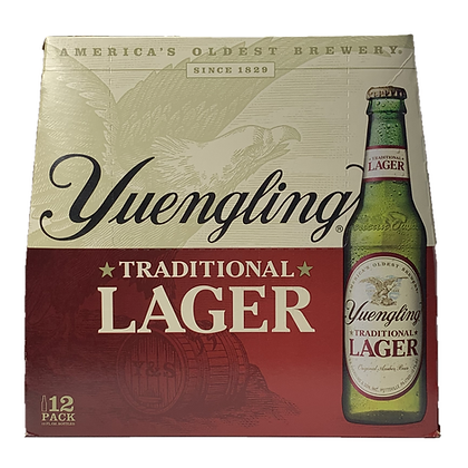 Yuengling 12 pack (12oz bottles)