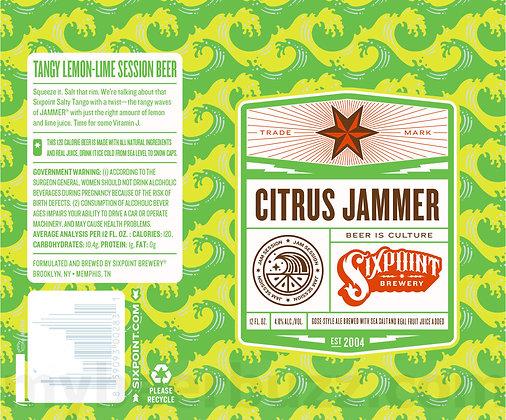 Sixpoint Citrus Jammer 12oz (6pk) CN