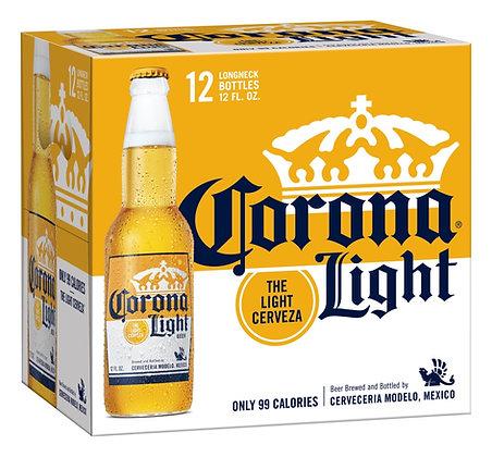 Corona light 12oz (12pk) NR