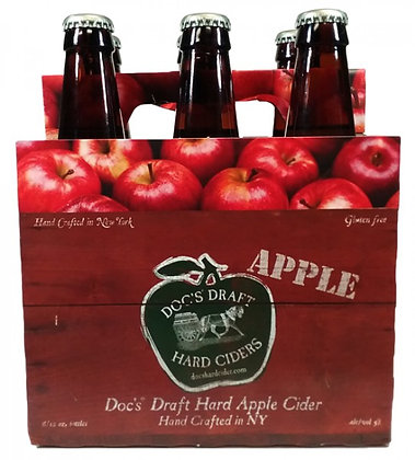 Doc's Draft Hard Apple Cider - 6 pack bottles