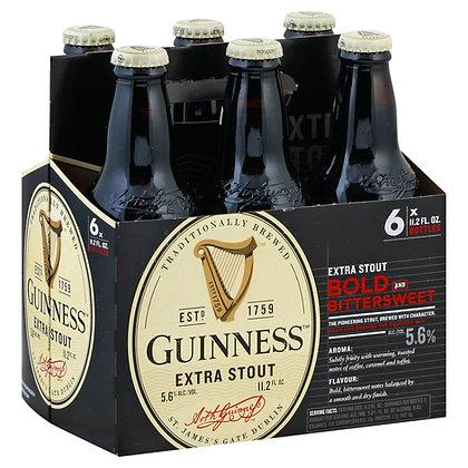 Guinness Extra Stout 11.2 oz (6pk) NR