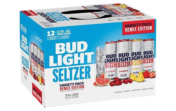 Bud Light Seltzer Remix edition 12oz (12pk) CN