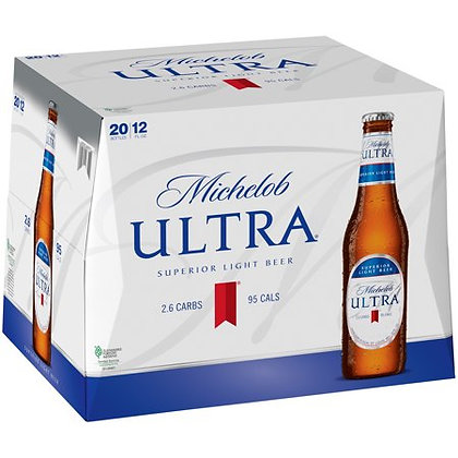 Michelob Ultra 20 pack (12oz bottles)