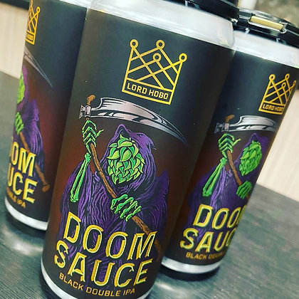 Lord Hobo Doom Sauce 16oz 4 pack cans