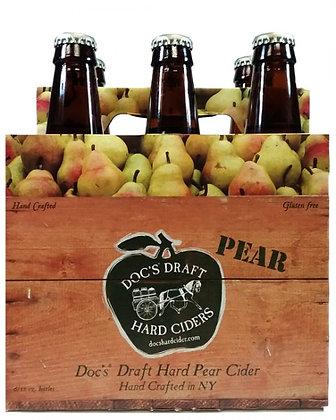 Doc's Draft Hard Pear Cider - 6 pack bottle