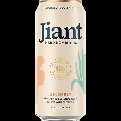 Jiant Hard Kombucha Gingerly (16 oz)