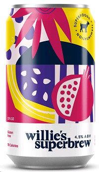 Willie's sparkling pomegranate and acai (12oz)