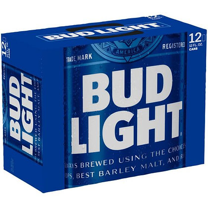 Bud Light 12 Pack (12oz can)