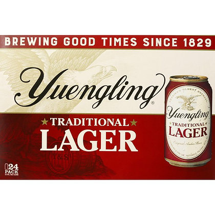 Yuengling 24 pack (12oz cans)