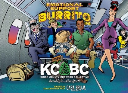 KCBC Emotional Support Burrito (16oz can)