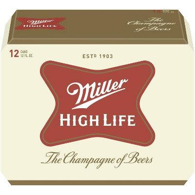 Miller High Life 12oz (12pk) CN