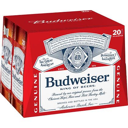 Budweiser 20 pack (12oz Bottles)