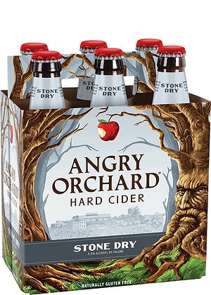 Angry Orchard Stone Dry 12oz (6pk) NR