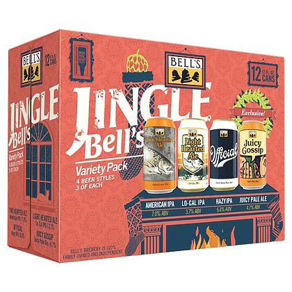 Bell's Jingle Bell's Variety pack 12oz (12pk) CN