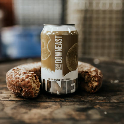 Downeast Cider Donut 4 pack can