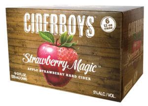 CiderBoys Apple Strauberry 12oz (6pk) CN