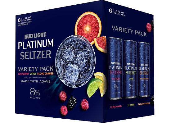 Bud light Platinum Seltzer Variety pack 12oz (12pk) CN